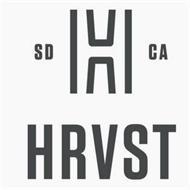 H SD CA HRVST