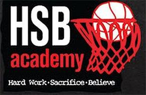 HSB ACADEMY HARD WORK · SACRIFICE · BELIEVE
