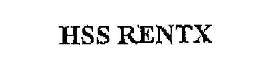 HSS RENTX