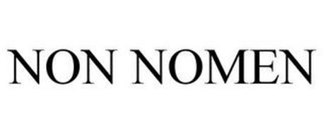 NON NOMEN