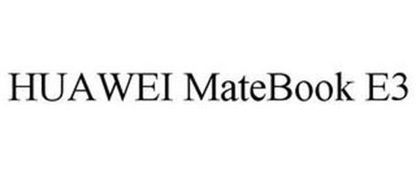 HUAWEI MATEBOOK E3