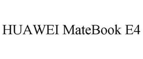 HUAWEI MATEBOOK E4