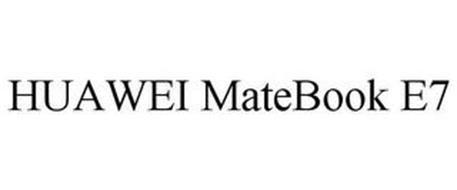 HUAWEI MATEBOOK E7