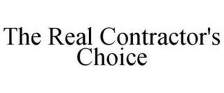 THE REAL CONTRACTOR'S CHOICE