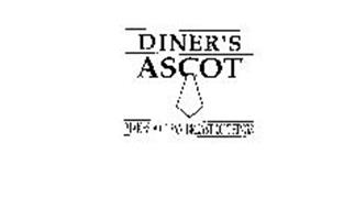 DINER'S ASCOT MAKES A CLEAN BREAST OF THINGS