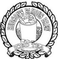 HUDSON'S FAMOUS BREW ICED TEA HUDSONSFAMOUSBREW.COM