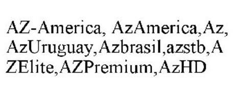 AZ-AMERICA, AZAMERICA,AZ, AZURUGUAY,AZBRASIL,AZSTB,AZELITE,AZPREMIUM,AZHD