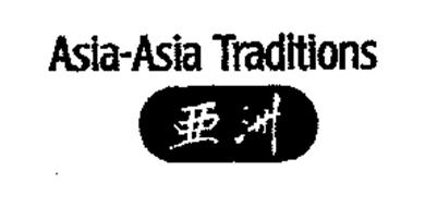 ASIA-ASIA TRADITIONS