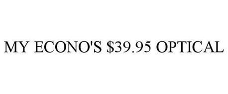 MY ECONO'S $39.95 OPTICAL