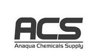 ACS ANAQUA CHEMICALS SUPPLY