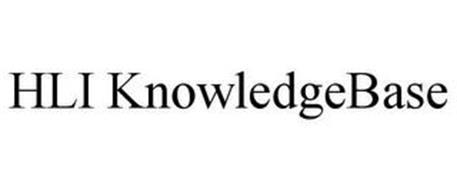 HLI KNOWLEDGEBASE