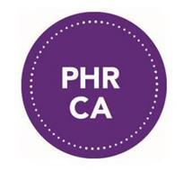 PHR CA