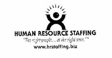 "HUMAN RESOURCE STAFFING ""THE RIGHT PEOPLE... AT THE RIGHT TIME."" WWW.HRSTAFFING.BIZ"