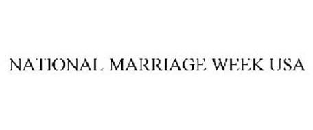 NATIONAL MARRIAGE WEEK USA