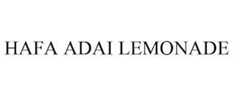 HAFA ADAI LEMONADE