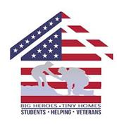 BIG HEROES TINY HOMES STUDENTS HELPING VETERANS