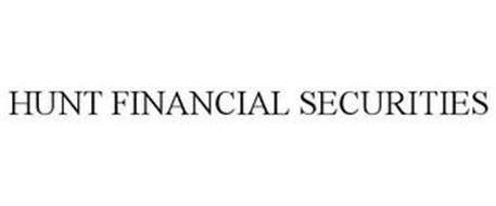 HUNT FINANCIAL SECURITIES