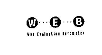 W... E...B WEB EVALUATION BAROMETER