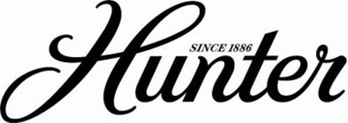 hunter since 1886 trademark of hunter fan company serial