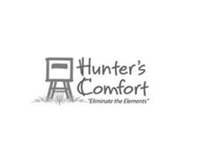 "HUNTER'S COMFORT ""ELIMINATE THE ELEMENTS"""