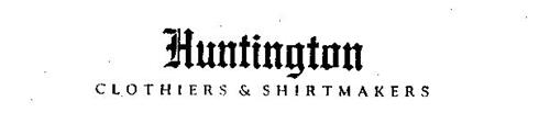 HUNTINGTON CLOTHIERS & SHIRTMAKERS