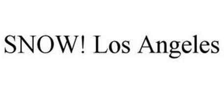 SNOW! LOS ANGELES