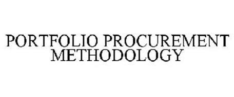 PORTFOLIO PROCUREMENT METHODOLOGY
