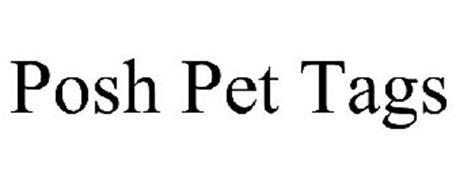 POSH PET TAGS