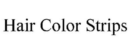 HAIR COLOR STRIPS
