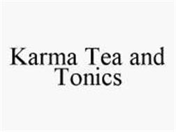 KARMA TEA AND TONICS