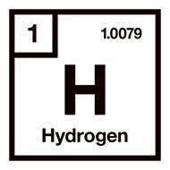 1 1.0079 H HYDROGEN