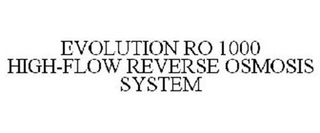 EVOLUTION RO 1000 HIGH-FLOW REVERSE OSMOSIS SYSTEM