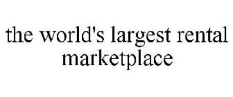 THE WORLD'S LARGEST RENTAL MARKETPLACE
