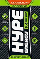 HYPE ENERGY MFP MAXIMUM CAFFEINE 300 MG300MG CAFFEINE 5 X VIT B 5 X VITAMINS TAURINE PERFORM ENERGY FOCUS ENERGY DRINK