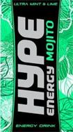 HYPE ENERGY MOJITO ULTRA MINT & LIME ENERGY DRINK