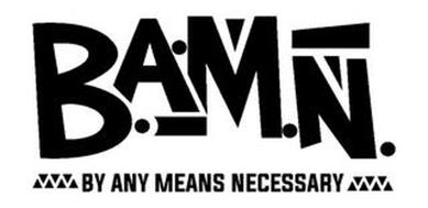 B.A.M.N. BY ANY MEANS NECESSARY