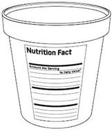 NUTRITION FACT AMOUNT PER SERVING % DAILY VALUE*