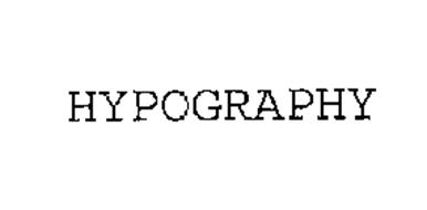 HYPOGRAPHY