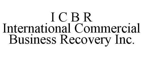 I C B R INTERNATIONAL COMMERCIAL BUSINESS RECOVERY INC.