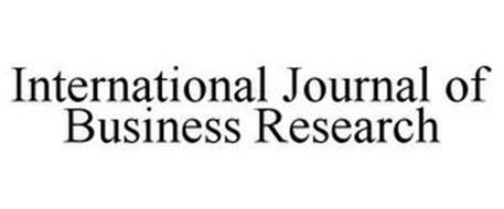 INTERNATIONAL JOURNAL OF BUSINESS RESEARCH