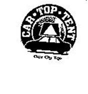 CAR TOP TENT OUT ON TOP
