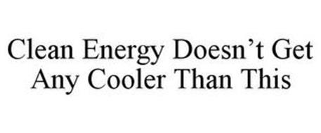 CLEAN ENERGY DOESN'T GET ANY COOLER THAN THIS