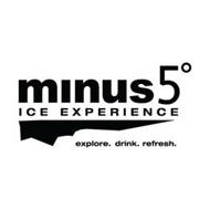MINUS5° ICE EXPERIENCE EXPLORE. DRINK. REFRESH.