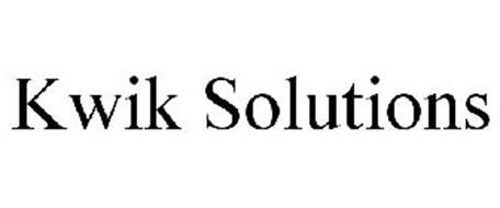 KWIK SOLUTIONS