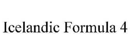 ICELANDIC FORMULA 4