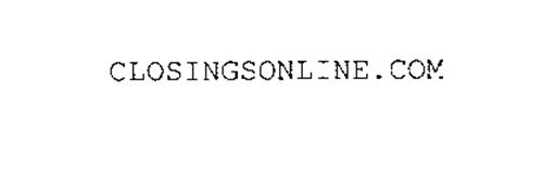 CLOSINGSONLINE.COM