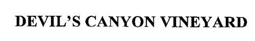 DEVIL'S CANYON VINEYARD