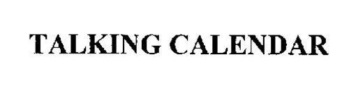 TALKING CALENDAR