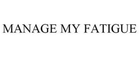 MANAGE MY FATIGUE