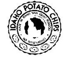 IDAHO POTATO CHIPS MADE IN IDAHO WITH IDAHO POTATOES